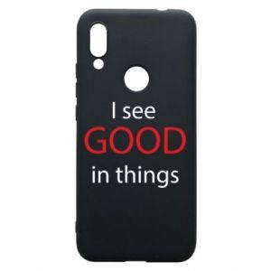 Etui na Xiaomi Redmi 7 I see good in things