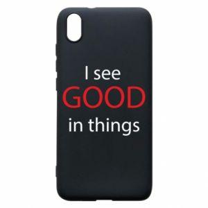 Etui na Xiaomi Redmi 7A I see good in things
