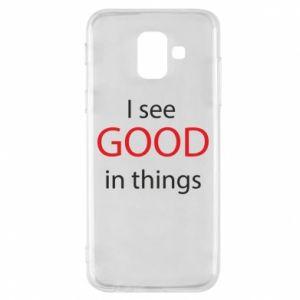 Etui na Samsung A6 2018 I see good in things