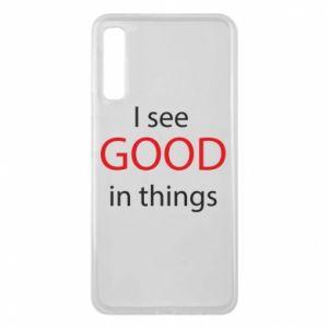 Etui na Samsung A7 2018 I see good in things