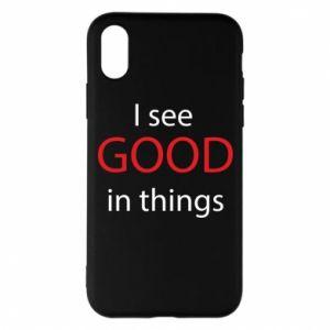 Etui na iPhone X/Xs I see good in things