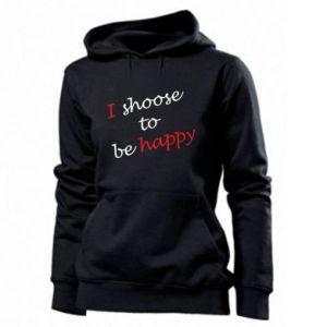 Damska bluza I shoose to be happy