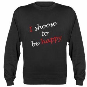 Bluza (raglan) I shoose to be happy