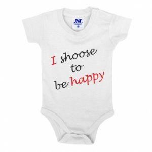 Body dla dzieci I shoose to be happy