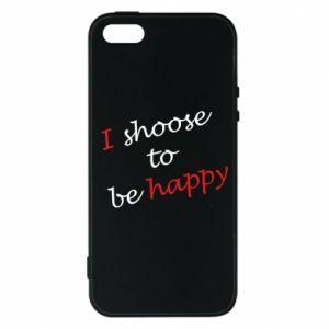 Etui na iPhone 5/5S/SE I shoose to be happy