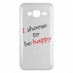 Etui na Samsung J3 2016 I shoose to be happy