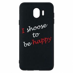 Etui na Samsung J4 I shoose to be happy