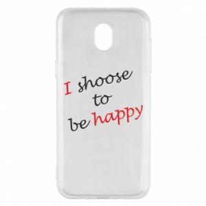 Etui na Samsung J5 2017 I shoose to be happy