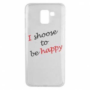 Etui na Samsung J6 I shoose to be happy