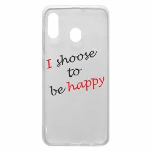 Etui na Samsung A30 I shoose to be happy