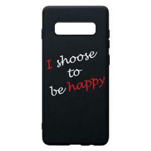Etui na Samsung S10+ I shoose to be happy