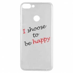 Etui na Huawei P Smart I shoose to be happy