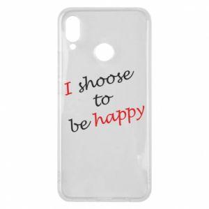 Etui na Huawei P Smart Plus I shoose to be happy