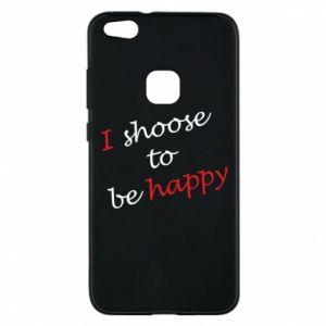 Etui na Huawei P10 Lite I shoose to be happy