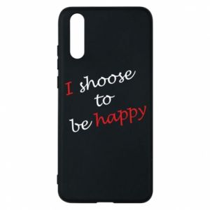 Etui na Huawei P20 I shoose to be happy