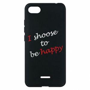 Etui na Xiaomi Redmi 6A I shoose to be happy