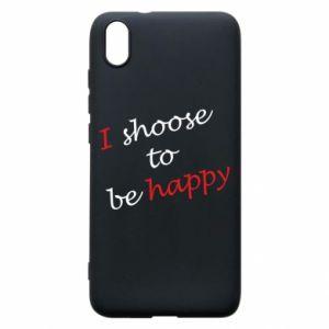 Etui na Xiaomi Redmi 7A I shoose to be happy