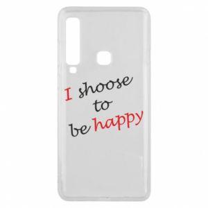 Etui na Samsung A9 2018 I shoose to be happy
