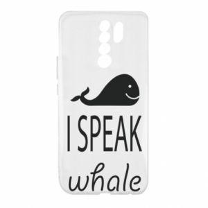 Xiaomi Redmi 9 Case I speak whale