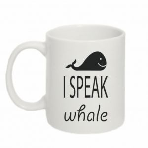Kubek 330ml I speak whale