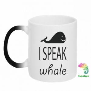 Kubek-kameleon I speak whale