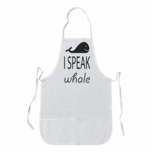 Fartuch I speak whale