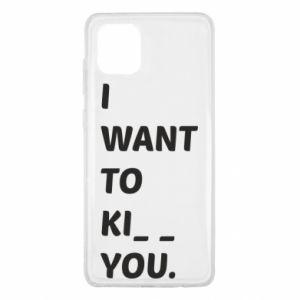 Etui na Samsung Note 10 Lite I want o ki__ you