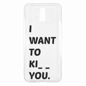 Etui na Nokia 2.3 I want o ki__ you