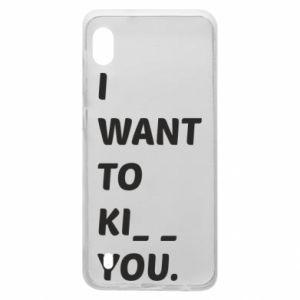 Etui na Samsung A10 I want o ki__ you
