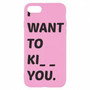 Etui na iPhone SE 2020 I want o ki__ you