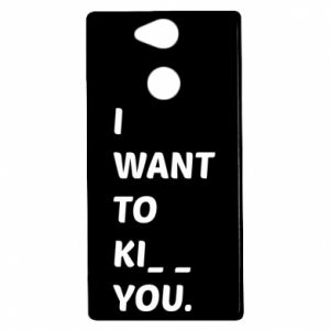 Etui na Sony Xperia XA2 I want o ki__ you