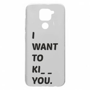 Etui na Xiaomi Redmi Note 9/Redmi 10X I want o ki__ you