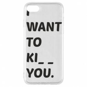 Etui na iPhone 7 I want o ki__ you