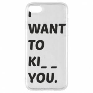 Etui na iPhone 8 I want o ki__ you