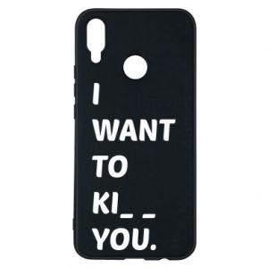 Etui na Huawei P Smart Plus I want o ki__ you
