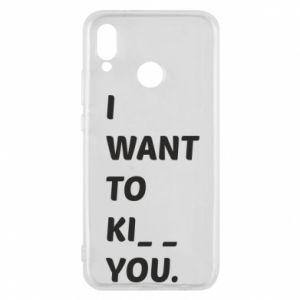 Etui na Huawei P20 Lite I want o ki__ you