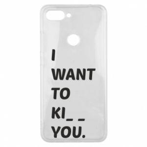 Etui na Xiaomi Mi8 Lite I want o ki__ you