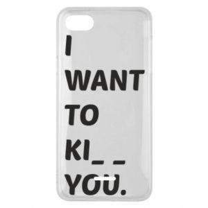 Etui na Xiaomi Redmi 6A I want o ki__ you
