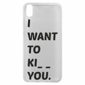 Etui na Xiaomi Redmi 7A I want o ki__ you
