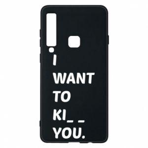 Etui na Samsung A9 2018 I want o ki__ you