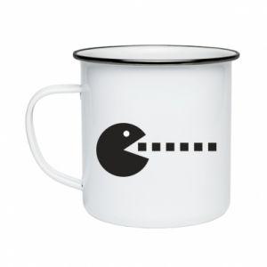 Enameled mug I want to eat you