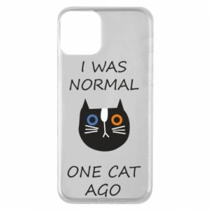 Etui na iPhone 11 I was normal one cat ago