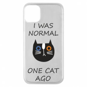Etui na iPhone 11 Pro I was normal one cat ago