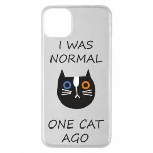 Etui na iPhone 11 Pro Max I was normal one cat ago