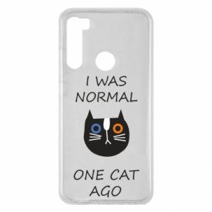 Etui na Xiaomi Redmi Note 8 I was normal one cat ago