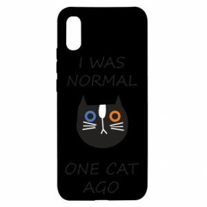 Etui na Xiaomi Redmi 9a I was normal one cat ago