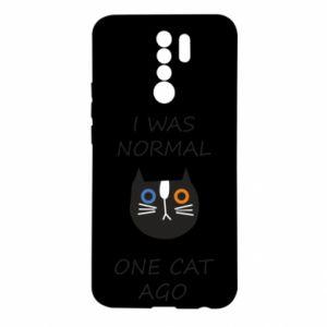 Etui na Xiaomi Redmi 9 I was normal one cat ago