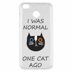 Etui na Xiaomi Redmi 4X I was normal one cat ago