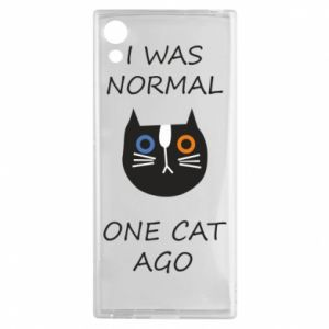 Sony Xperia XA1 Case I was normal one cat ago