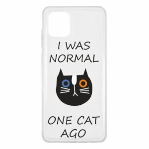 Samsung Note 10 Lite Case I was normal one cat ago